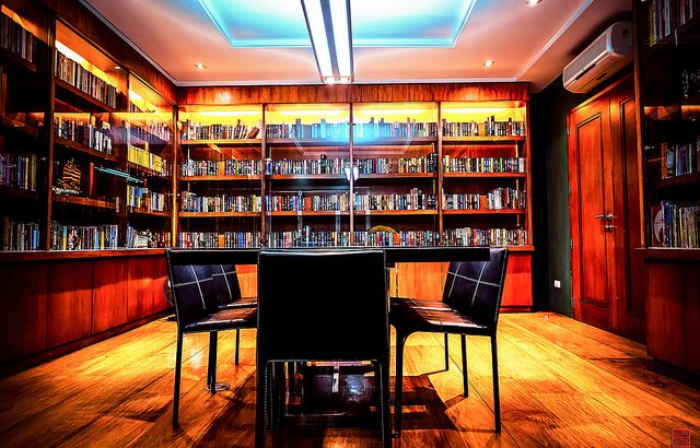 """""""Library"""" from Daniel Go on Flickr"""