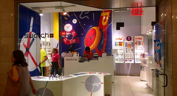"""Swatch Water Store, Grand Central Station, NYC, 9/2016, pics by Mike Mozart of TheToyChannel and JeepersMedia on YouTube #Swatch #Watch"" by ""Mike Mozart"" on Flickr"