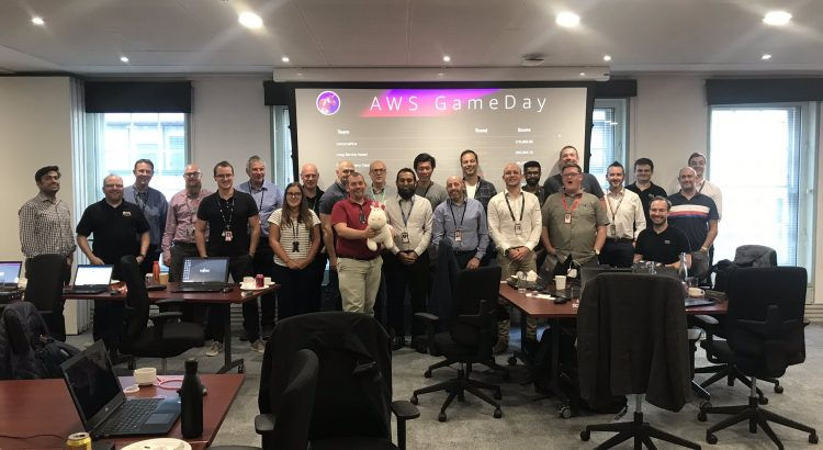 Fujitsu AWS Game Day Attendees