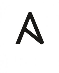 Ansible Logo (reversed colours)