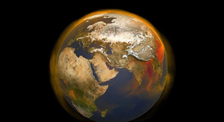 """Tracking Methane Sources and Movement Around the Globe"" by ""NASA/Scientific Visualization Studio"" on Nasa.gov"